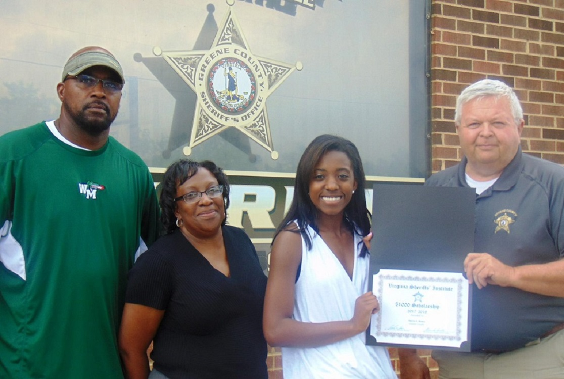 Virginia Sheriff's Institute Scholarship Program